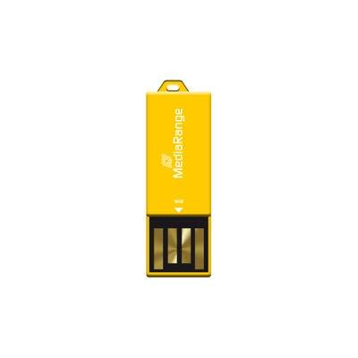 Afbeelding van 16GB MediaRange USB nano flash drive paper clip MR976