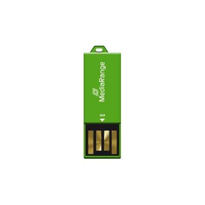 Afbeelding van 32GB MediaRange USB nano flash drive paper clip MR977