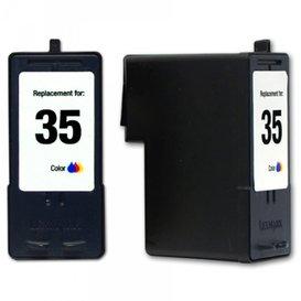Lexmark Compatibel inktpatroon No.35 Kleur
