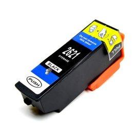 Epson T2621 compatible inktpatroon 26XL zwart 22 ml