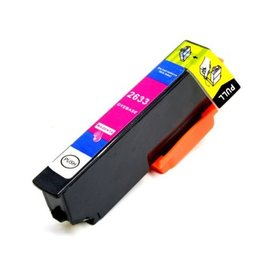 Epson T2633 compatible inktpatroon 26XL magenta 10 ml