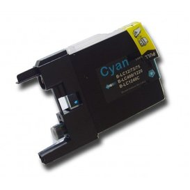 Brother LC1220/1240 compatible inktpatroon cyaan 10 ml