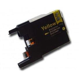 Brother LC1220/1240 compatible inktpatroon geel 10 ml