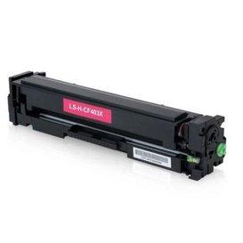 HP Toner Huismerk 201X magenta CF403X