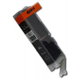 Canon CLI-551BK compatible inktpatroon zwart 11 ml