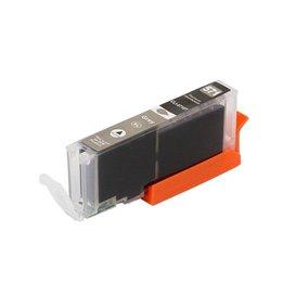 Canon CLI-571GY Huismerk inktpatroon grijs met chip 15 ml