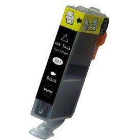 Canon CLI-521BK compatible inktpatroon zwart 11 ml