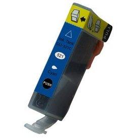 Canon CLI-521C compatible inktpatroon cyaan 11 ml