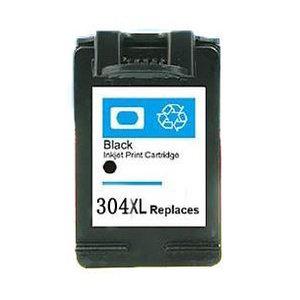 HP 304 XL compatible inktpatroon N9K08AE Zwart 20 ml
