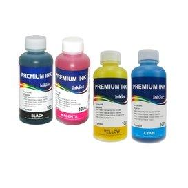 Epson Pigment inkt Inktec 100 ml. Epson set van 4 kleuren