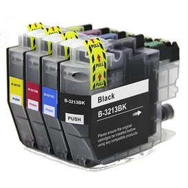 Brother LC3213 XL Set compatible inktpatronen 4 stuks