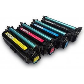 HP Toner Huismerk 648A-649X voordeelpack CE260X-CE263A 4 stuks