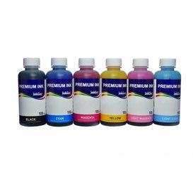 Canon Dye  inkt Inktec 100 ml. flacon set van 6 kleuren