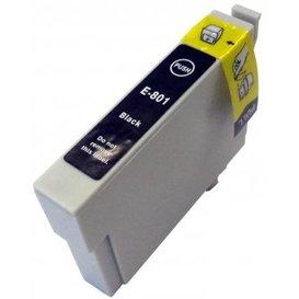 Epson T0801 compatible inktpatroon zwart met chip 15 ml