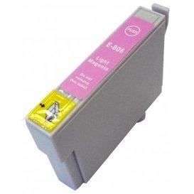 Epson T0806 compatible inktpatroon licht magenta met chip 15 ml