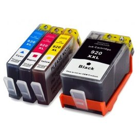 HP 920XL compatible inktpatronen Set 4 stuks