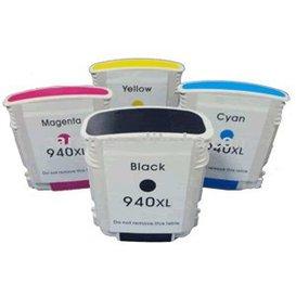 HP 940XL compatible inktpatronen Set 4 stuks