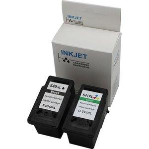 Canon PG-540/CL-541 XL Set huismerk inktpatronen zwart en kleur