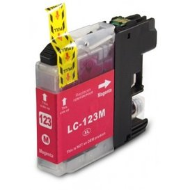 Brother LC123 Huismerk inktpatroon magenta 10 ml