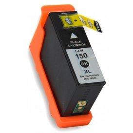 Lexmark 150 compatible inktpatroon Zwart 35 ml.