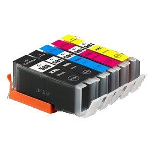 Canon CLI-581/PGI-580 Huismerk inktpatronen 5 stuks met chip