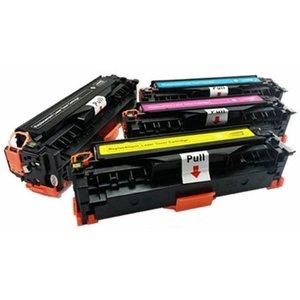 HP 304A  CC530A t/m CC533A Toner Huismerk Set van 4 kleuren