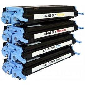 HP 124A Toners Huismerk Set 4 stuks Q6000a t/m Q6003A
