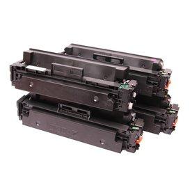 HP 410X Set 4 kleuren CF410X, CF411X, CF412X, CF413X Toner Huismerk
