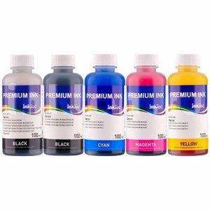 HP Dye/Pigment inkt Inktec 100 ml. flacon set van 5 kleuren