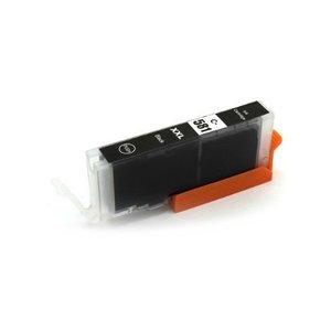 Canon CLI-581BK Huismerk inktpatroon foto zwart met chip 12 ml