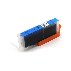 Canon CLI-581C Huismerk inktpatroon cyaan met chip 12 ml