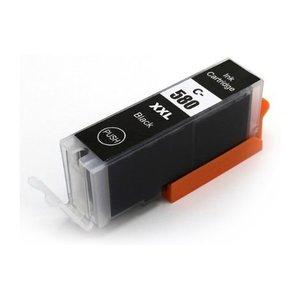 Canon PGI-580BK Huismerk inktpatroon zwart met chip 26 ml