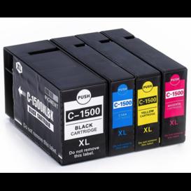 Canon PGI-1500 Serie Huismerk inktpatronen Set van 4 stuks