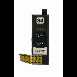 Epson T3471 Huismerk inktpatroon 34XL Zwart