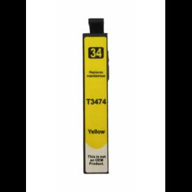 Epson T3474 Huismerk inktpatroon 34XL Geel