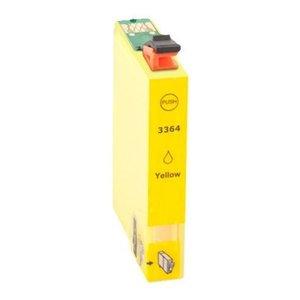 Epson T3364 Huismerk inktpatroon Geel 33XL 15,5 ml