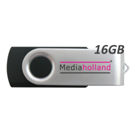 USB Stick USB2.0 Twister 16GB MediaHolland