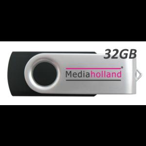 USB Stick USB2.0 Twister 32GB MediaHolland