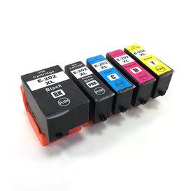 Epson T202 Huismerk inktpatronen 202XL set van 5 stuks