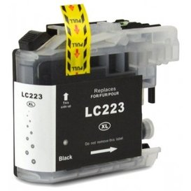 Brother LC223 Huismerk inktpatroon zwart 20 ml
