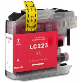 Brother LC223 Huismerk inktpatroon magenta 10 ml
