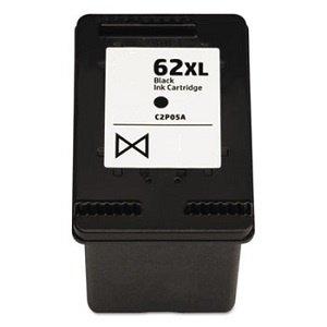 HP 62 XL compatible inktpatroon C2P05AE Zwart 20 ml