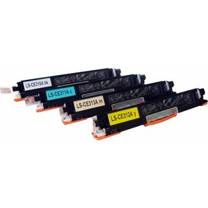 HP Toners Huismerk 126A Set 4 stuks CE310A t/m CE313A