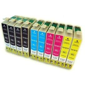 Epson T1811-T1814 compatible inktpatronen 18XL set van 10 stuks