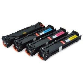 HP 131A Set 4 stuks CF210X-CF211A-CF212A-CF213A Toners Huismerk
