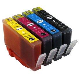 HP 364 compatible inkpatronen Set van 4 stuks XL