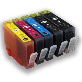 HP 364 compatible inkpatronen Set van 5 stuks XL