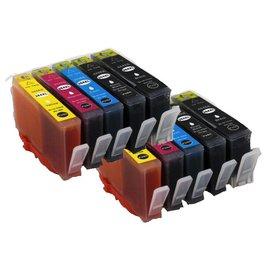 HP 364 XL Huismerk inkpatronen Set van 10 stuks