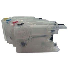 Brother LC1220-40-80 Hervulbare Cartridge, standaard capaciteit 4 stuks