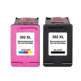 HP 302XL Huismerk inktpatronen set Kleur en Zwart